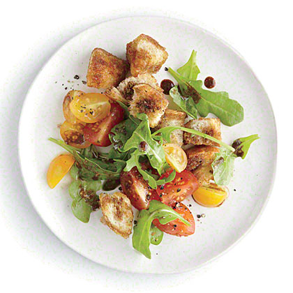 Arugula Bread Salad