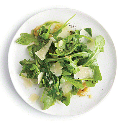 Arugula Salad with Caesar Vinaigrette Recipe