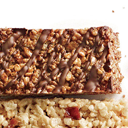 Double-Chocolate Chewy Crispy Bars
