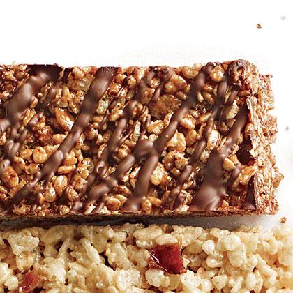 Double-Chocolate Chewy Crispy Bars
