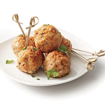 Quick Quinoa Meatballs