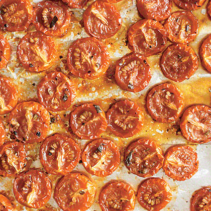 Slow Roasted Grape Tomatoes Recipe Myrecipes