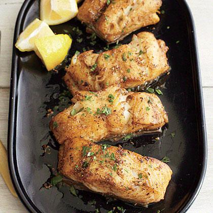 Cumin-Crusted Sablefish Recipe