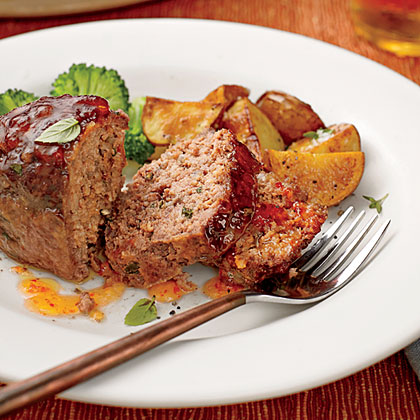 Pepper Relish Mini Meatloaves