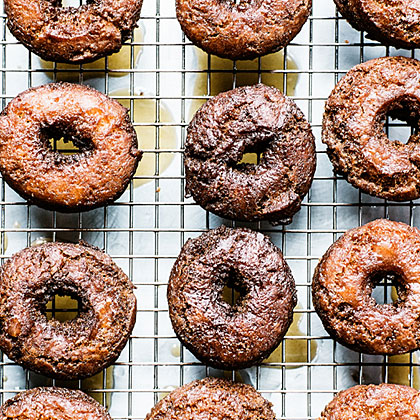 Glazed Cider Doughnuts Recipe