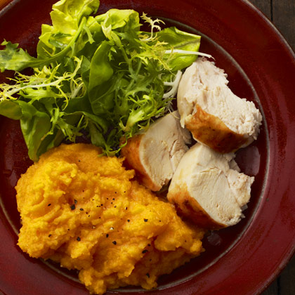 <p>Mashed Roasted Squash and Garlic</p>