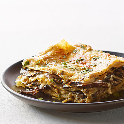 Mushroom and Fresh Herb Lasagna Recipe