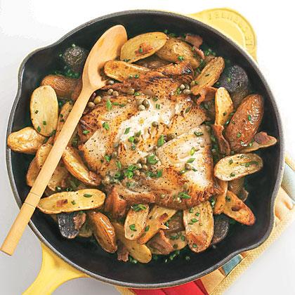 Oven-roasted Black Cod