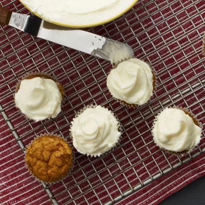 <p>Spiced Pumpkin Cupcakes</p>