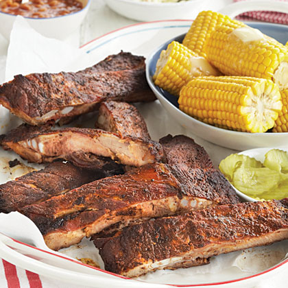 Barbecue Pork RibsRecipe