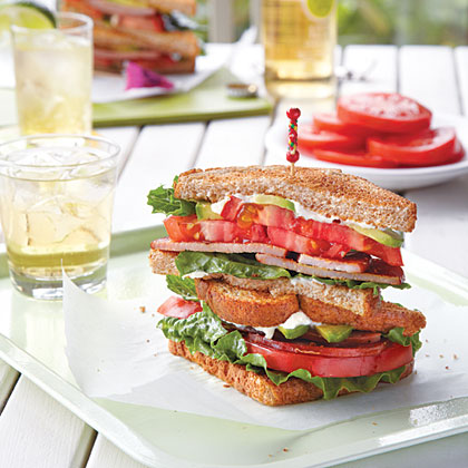 tomato bacon lettuce and tomato sandwich with avocado mayonnaise mary ...