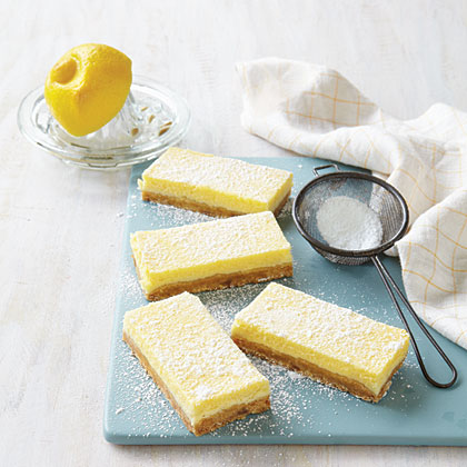 Butter-Crunch Lemon Bars Recipe