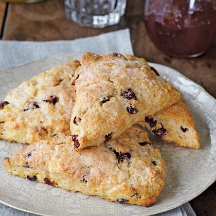 Cranberry-Orange Scones Recipe