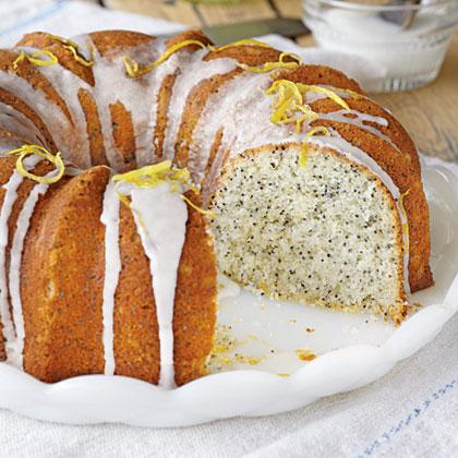 Lemon-Poppy Seed Bundt Cake Recipe