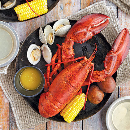 maine lobster bake recipe myrecipes