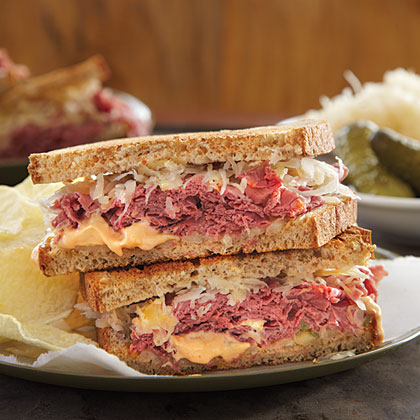 how to make a reuben at home