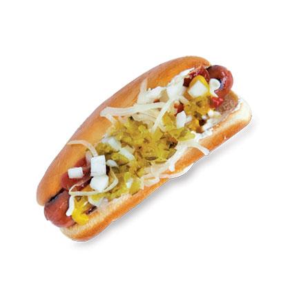 Seattle Cream Cheese Hot Dog