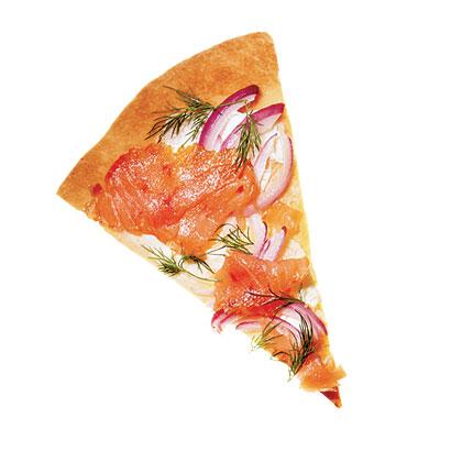 Smoked Salmon & Dill Pizza