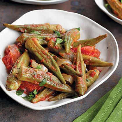 Stewed Okra & Tomatoes Recipe