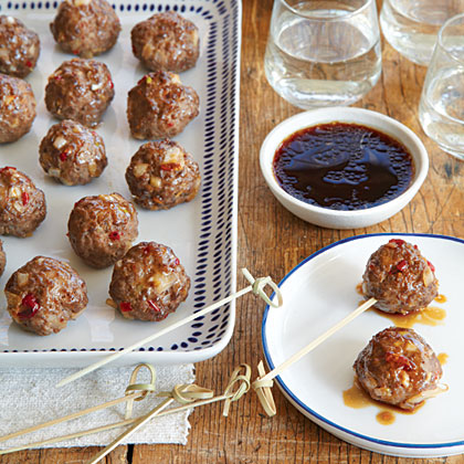 Sweet-and-Sour Meatballs Recipe