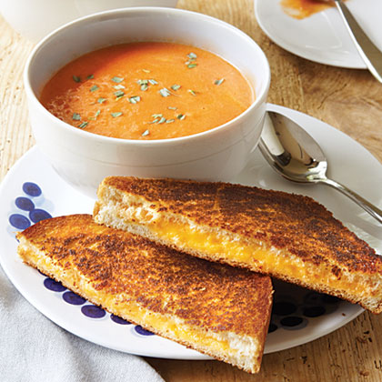 Tomato Soup and Grilled CheeseRecipe