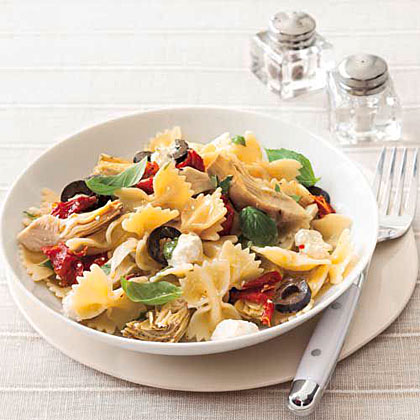 Feta and Artichoke Pasta Recipe