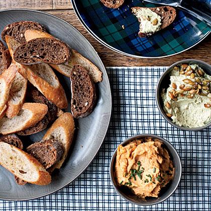 Austrian Cheese Spread with Pumpkin Seed OilRecipe
