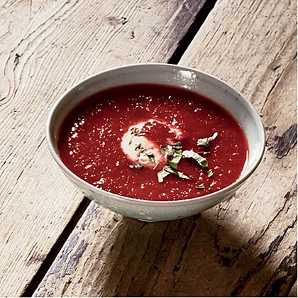 Beet-and-Tomato Soup with Cumin