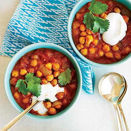 Chickpeas in Spicy Tomato Gravy Recipe