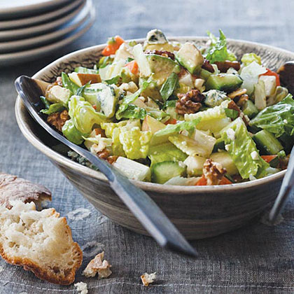 Chopped Salad with Blue Cheese DressingRecipe