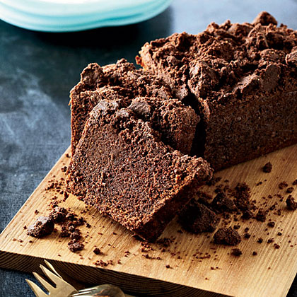 Cocoa-Carrot Cake with Cocoa Crumble Recipe