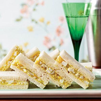 Curried-Egg Tea Sandwiches Recipe