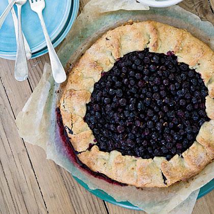 Free-Form Blueberry Tart Recipe