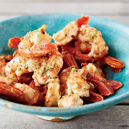 Grilled Shrimp with Oregano and Lemon