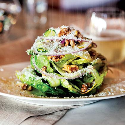 Little Gem Salad with Lemon Vinaigrette Recipe