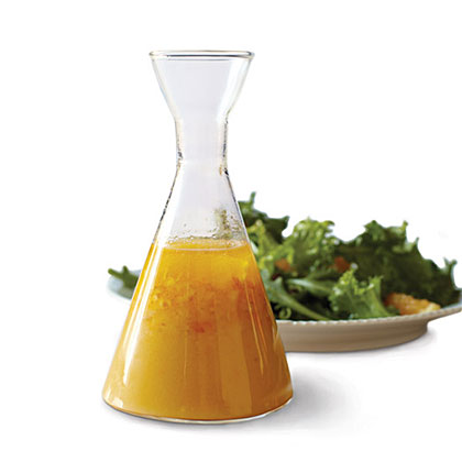 Orange-and-Ale Vinaigrette RecipeSean Paxton, founder of homebrewchef.com, cooks multicourse dinners with beer. This vinaigrette, which he makes with an India Pale Ale, shows beer's lighter side.