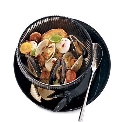 Shellfish in Brodetto
