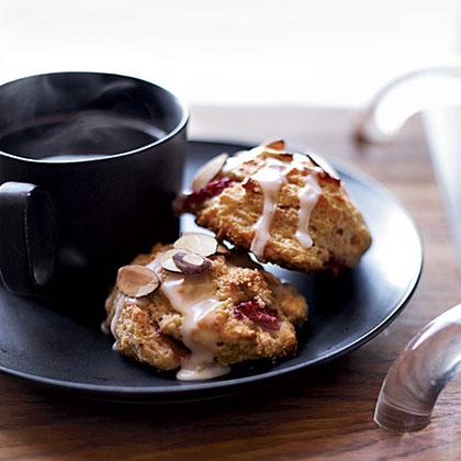 Strawberry-Almond Scones Recipe