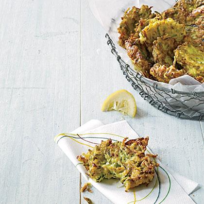 Zucchini-Ricotta Fritters Recipe