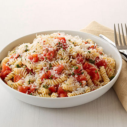 Pasta with Roasted Tomatoes Recipe
