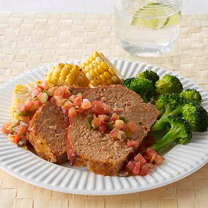 Turkey Taco Meat Loaf Recipe