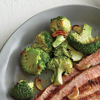Garlic-Roasted Broccoli