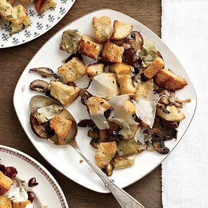 Mushroom-Artichoke Stuffing