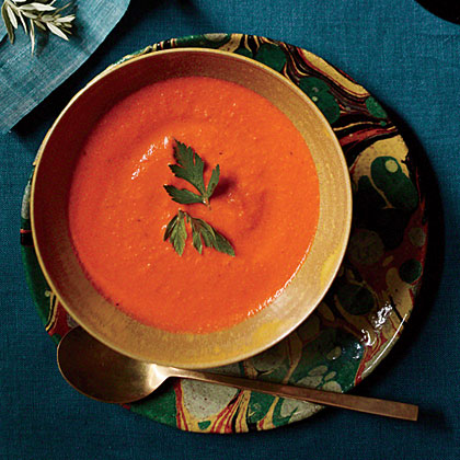 Smoky Bell Pepper Soup Recipe
