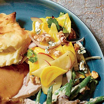 Speedy Apple-Beet Salad