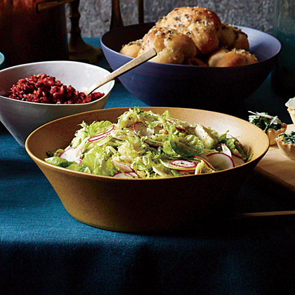 Sweet and Sour Brussels Sprout Salad Recipe