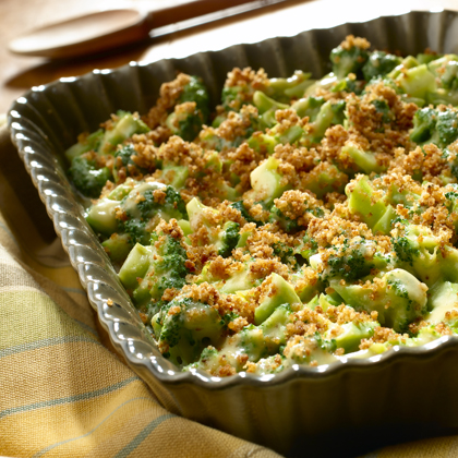 Cheddar Broccoli Casserole