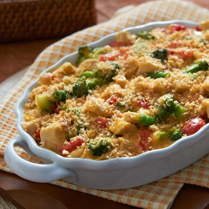 Cheddar Broccoli & Chicken Casserole