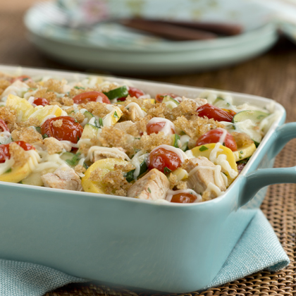 Summer Vegetable & Chicken Casserole