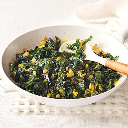 Curried Collard Greens Recipe